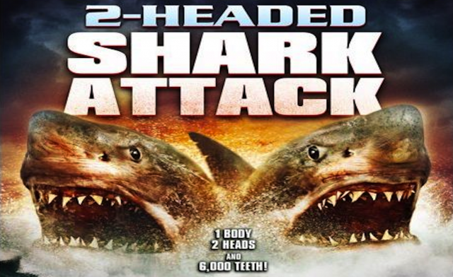 Bad Movie Tuesday: Two-Headed Shark Attack | Movies, Films ... Mega Shark Vs Giant Octopus Plane Scene