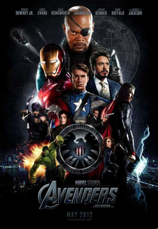 The avengers fan made poster