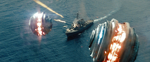 Battleship alien missle
