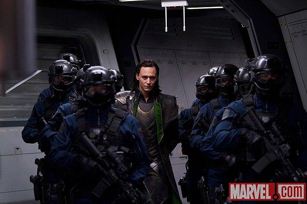 The Avengers Loki Tom Hiddleston