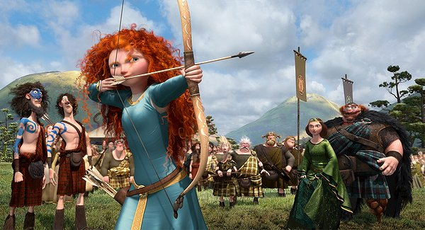 Brave bow and Arrow