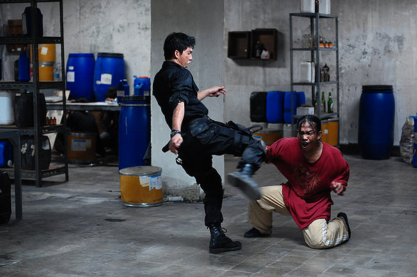 The Raid fight scenes