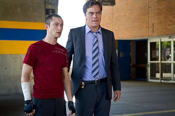 Premium Rush Michael Shannon and JGL