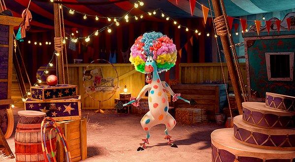 Madagascar 3 Circus Afro