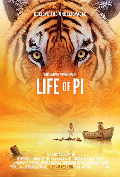 Life of Pi Movie tiger