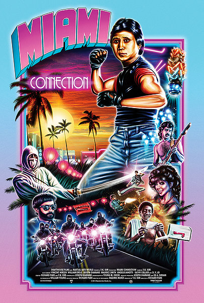 Miami Connection movie poster