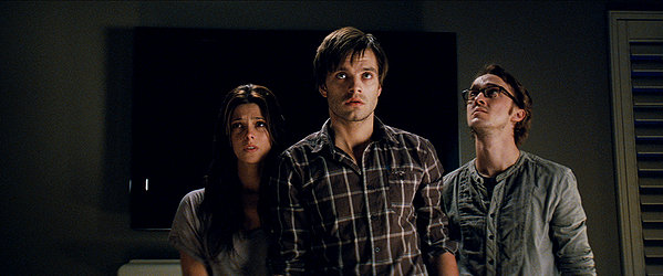 The apparition cast looking at mold