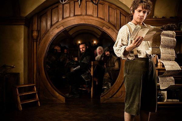 The Hobbit Martin Freeman contract
