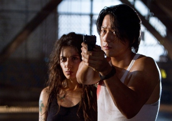 Bullet to the head Sung Kang gun
