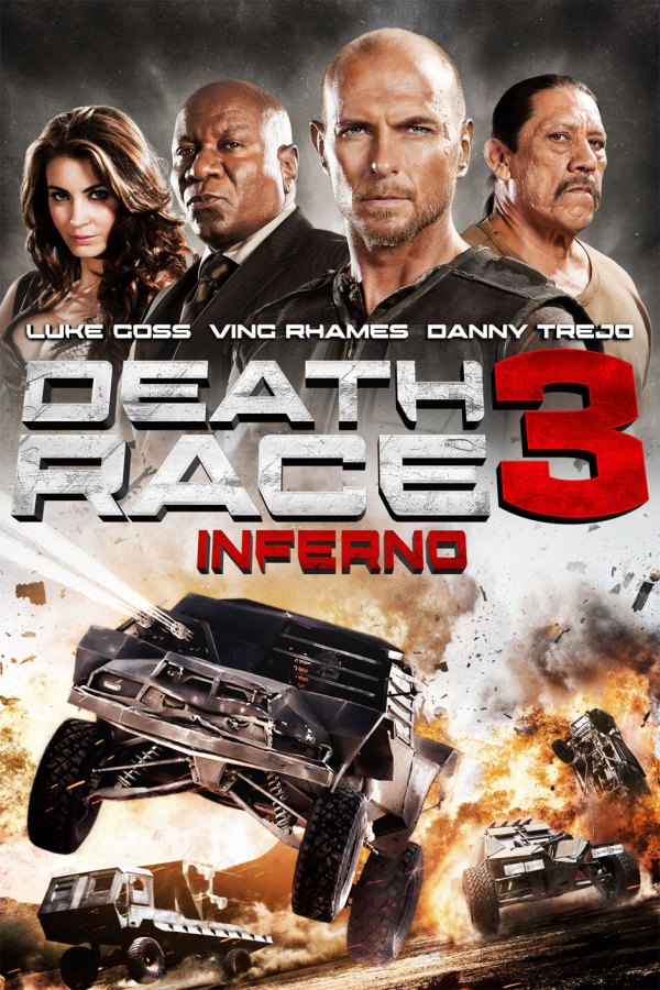 Death race 3 movie poster
