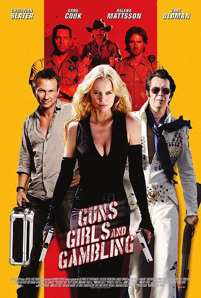 Guns Girls and Gambling movie poster Mattsson