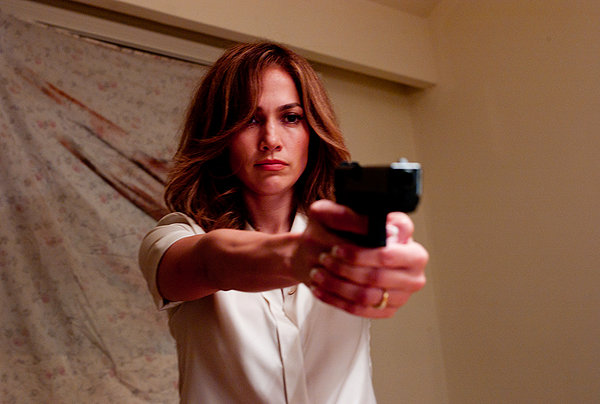 Parker Jennifer Lopez gun