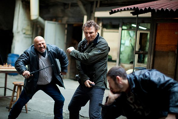 Taken 2 Liam Neeson beating up thugs