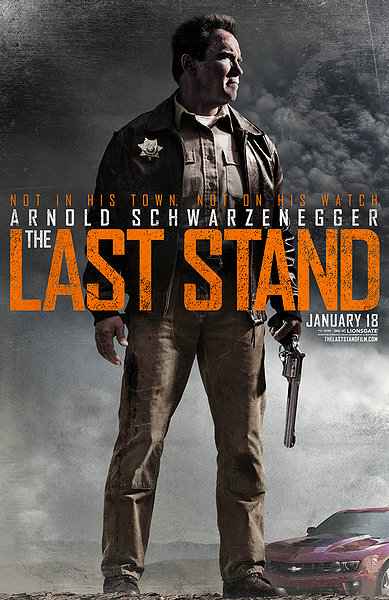 The last Stand Arnold movie poster