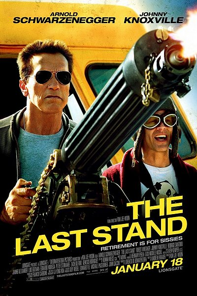 The Last Stand Johnny Knoxville movie poster