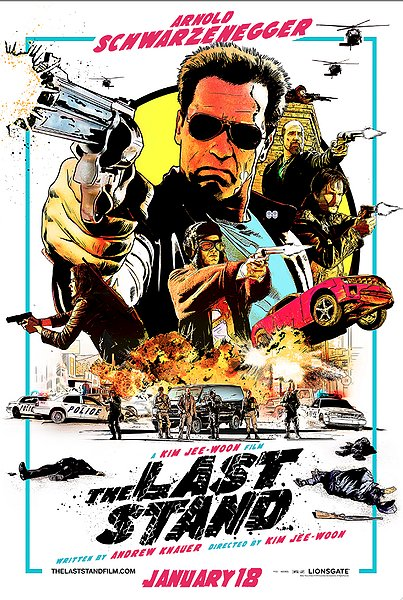 The Last Stand movie poster art