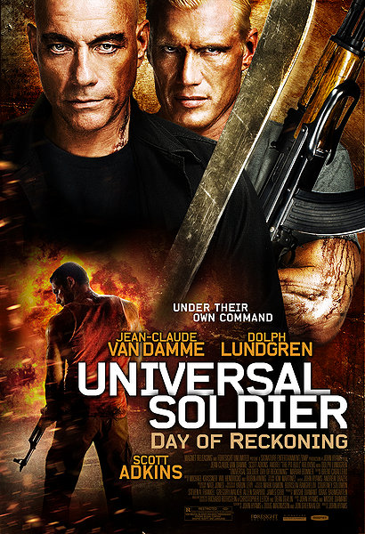 Universal Soldier Day of Reckoning movie poster