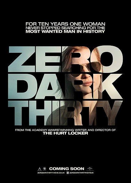 zero dark thirty movie poster