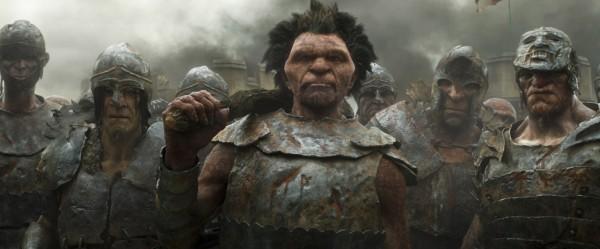 Jack the Giant Slayer Giants posing