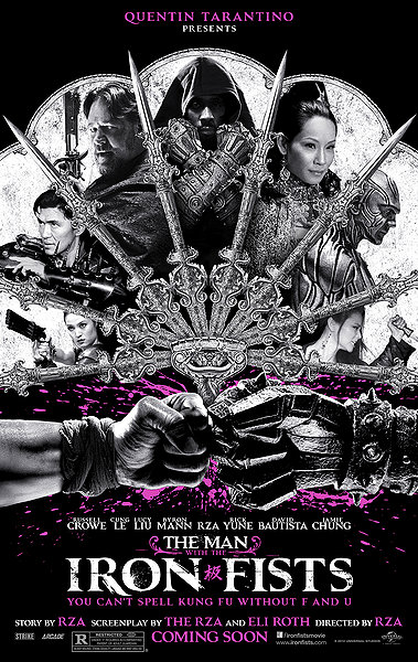 The Man With the Iron fists movie poster