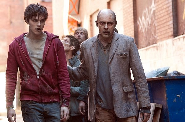 Warm Bodies Nicholas Hoult and Rob Cordry