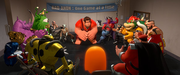 Wreck It Ralph Bad-Anon meeting