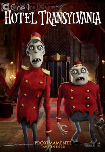 Hotel Transylvania zombie movie poster