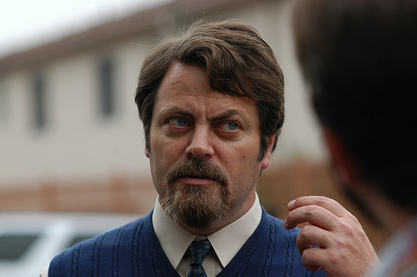 Smashed Nick Offerman