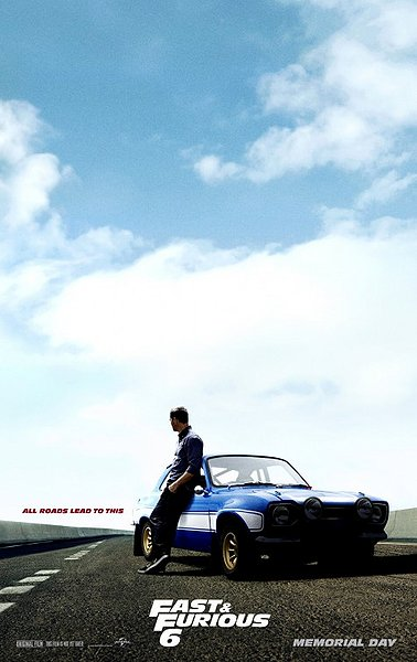 Fast and the Furious 6 Paul Walker