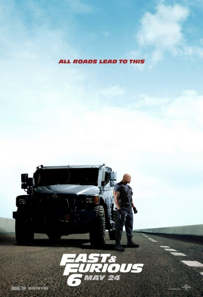 Fast and the Furious 6 The Rock
