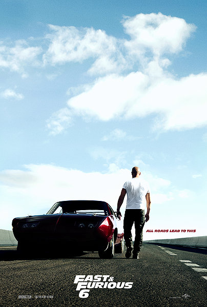 Fast and the Furious 6 Vin Diesel