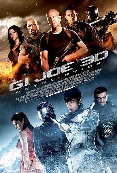 GI JOE 2 MOvie poster