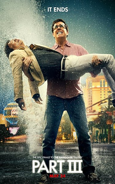 Hangover 3 movie poster