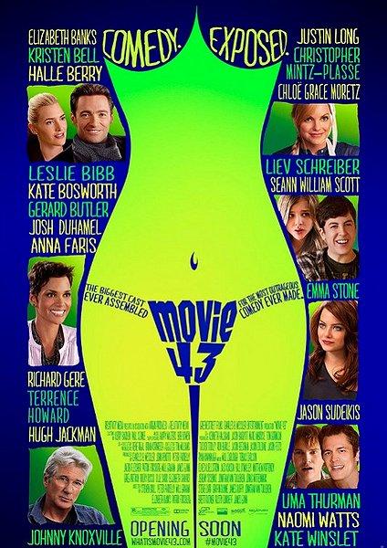 Movies 43 movie poster