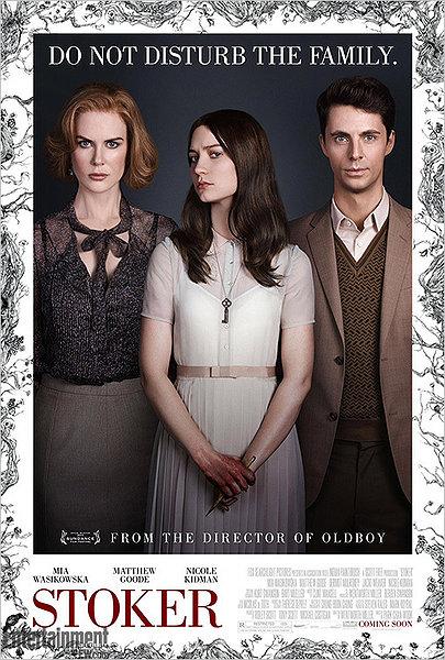 Stoker movie poster