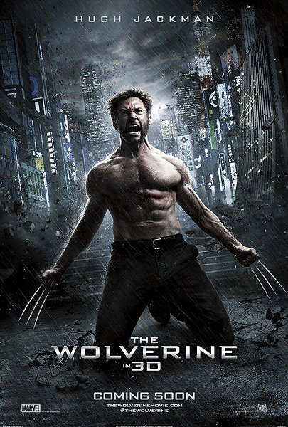 The Wolverine movie poster 3