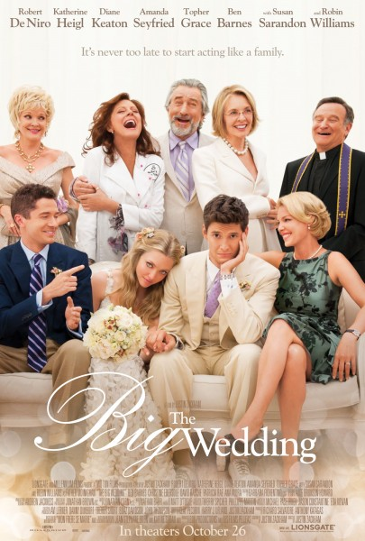 the Big Wedding movie poster 1
