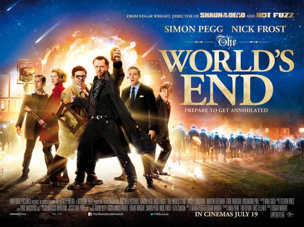 The Worlds End movie poster
