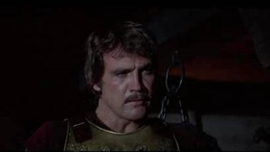 Lee Majors The Norseman mustache