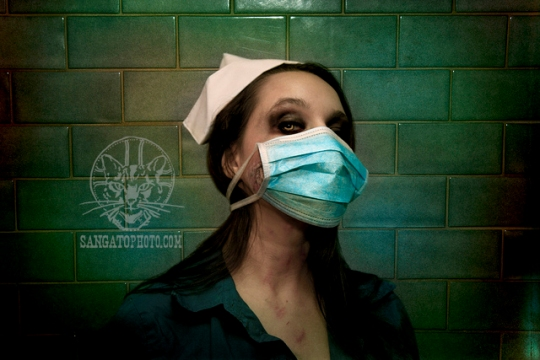 demon nurse masked