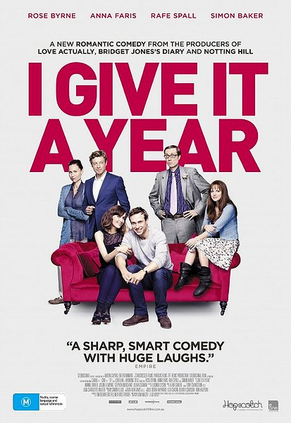 I give it a year movie poster