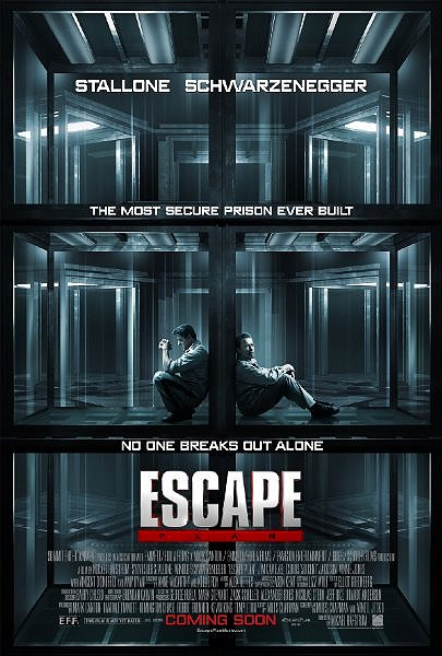 The escape plan movie poster