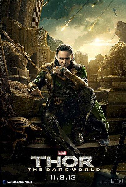 Thor 2 poster Loki