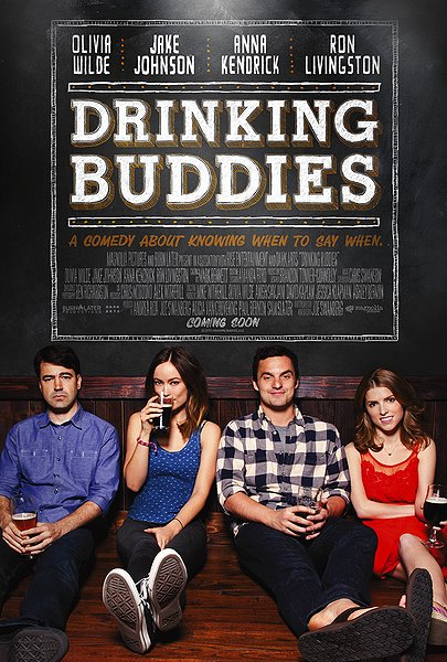 Drinking Buddies movie poster
