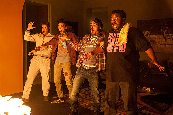 Craig Robinson this is the end