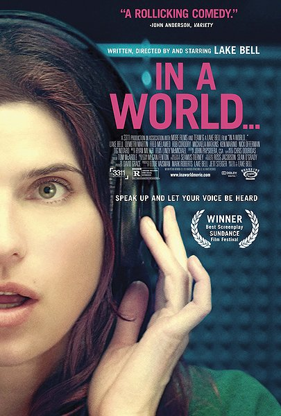 In a World Movie Poster