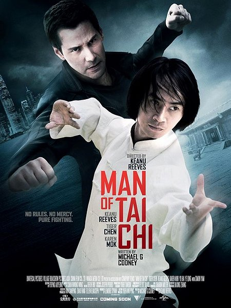 Man of Tai Chi movie poster