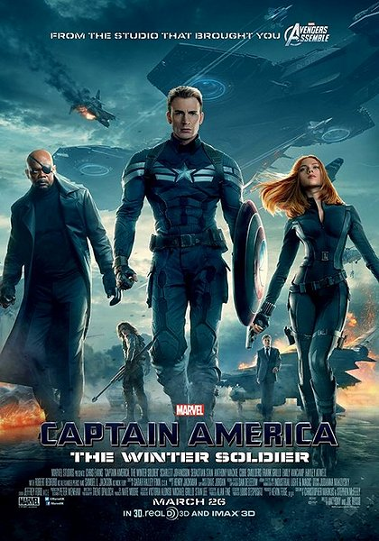 Captain America movie poster