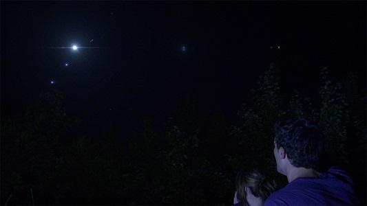 lights in the sky alien ufo