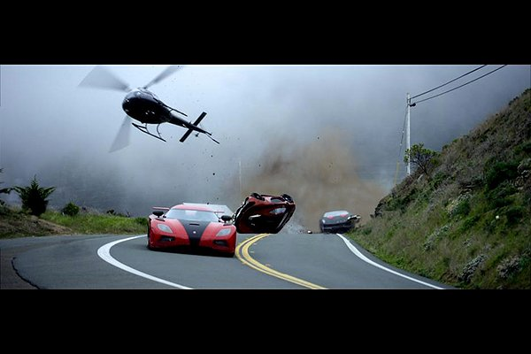 Need for Speed car crashes